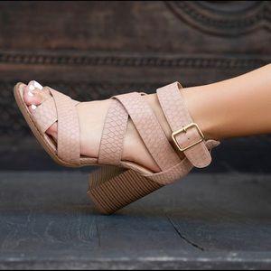 Brammer chunky heel